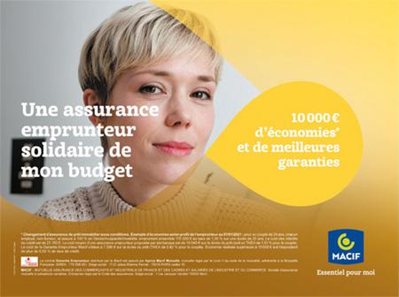 Campagne Communication Garantie Emprunteur Macif 2021